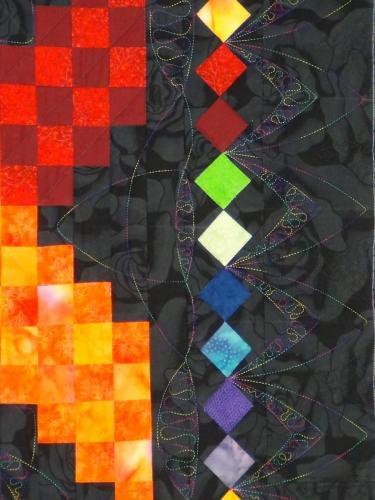 TZC Woven Colours detail